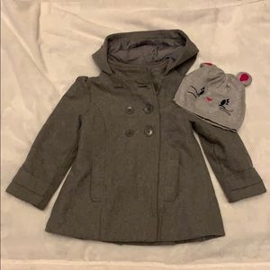 Old Navy size 4 peacoat girl